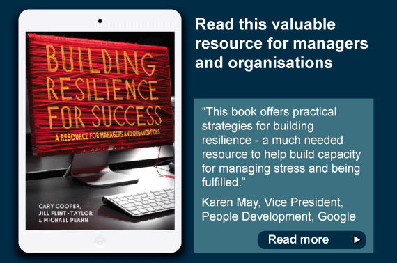 Book promotion - Building Resilience for Success