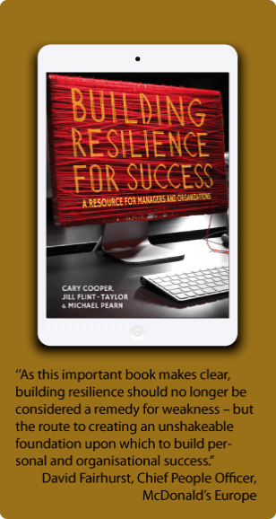 Promo for book Building Resilience
